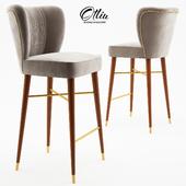 Visconti Contemporary Bar Chair - Ottiu