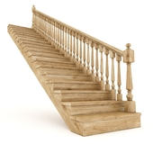 Wooden stairs 3
