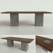 Riva 1920 table / BOSS EXECUTIVE CONCRETE