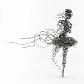 Unravel Sculpture by REGARDT VAN DER MEULEN