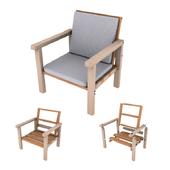 DIY basic armchair