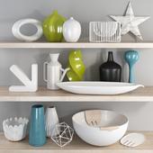 Modern decorative set