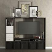 TV cabinet Ikea Lappland.