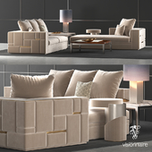 Visionnaire Babylon sofa set
