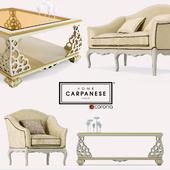 Sofa, armchair, table Carpanese
