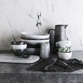 Kitchen Set by Morgan & Finch