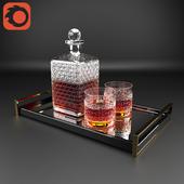 Glass Whiskey Set