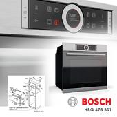 Oven Bosch HBG 675BS1