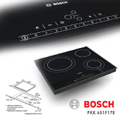 Cooktop Bosch PKK 651F17E