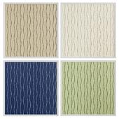 Waves modern seamless wallpaper