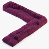 B&B Italia Bend-Sofa v2