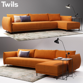 Twils GRAFFITI | Sectional sofa