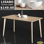IKEA LISABO dinner table