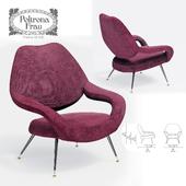 Кресло Poltrona Frau DU 55 DESIGN BY GASTONE RINALDI