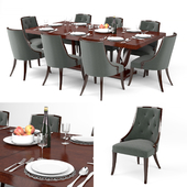 Guy Fontaine Dining Table & chairs