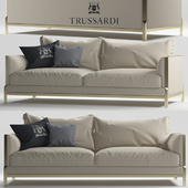 Band Sofa Two seater by Trussardi Casa