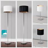 EGLO PASTERI set 6 Black / White & Gold