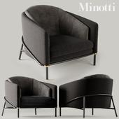 Minotti Fil noir Black