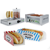 Equipment for hot dogs Fimar