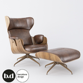 BD BARCELONA LOUNGER ARM CHAIRS