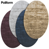 Poliform oval carpets