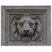 Lion-bas-relief