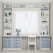 Furniture composition for a children's room 2