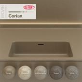 Dupont Corian Kitchen Countertops Brown 5