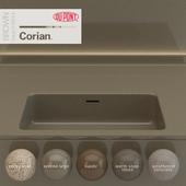 Dupont Corian Kitchen Countertops Brown 6