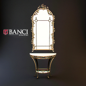 Console with mirror Banci art. 88.1085 / 90.1285