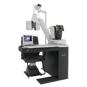 The workplace of the ophthalmologist Huvitz - HRT-7000