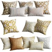 Gold cushion for sofa