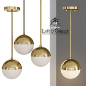 Suspension light Copper Light Pendant Orb