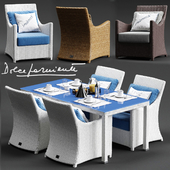 Dolcefarniente SCAURI Armchair and PALINURO Table