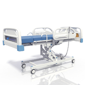 Medical armchair-bed for delivery