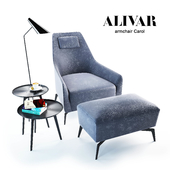 ALIVAR armchair Carol