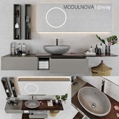 Set of bathroom furniture MODULNOVA Infinity_Decor