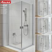 Ravak Chrome Corner Shower Enclosures