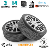 Renault Clio Wheel