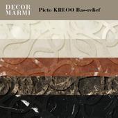 Decor Marmi - Picto KREOO Bas-relief