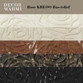 Decor Marmi - Rose KREOO Bas-relief