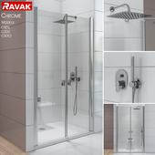 Shower doors Ravak Chrome