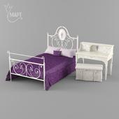 Спальня группа Алиса фабрики MART мебель