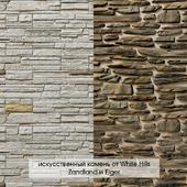 Artificial decorative stone White Hills