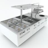 Modular Sensation cooking island