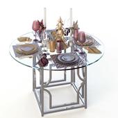 NewYear_set_table