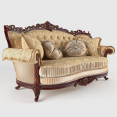 """Double sofa """"Milord Gold"""""""