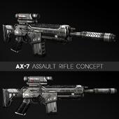 AX-7 Assault Rifle