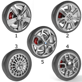 Set of 5 wheels: Part Two