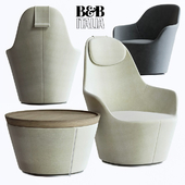B & B Italia Harbor armchair